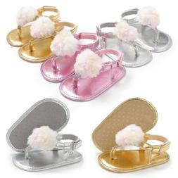 Baby Girl First Walkers Newborn Baby Girl Shoes Summer Soft