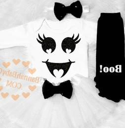 Baby Girl Ghost Costume Girls First Halloween Clothes 1st Ha