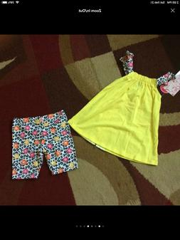 Baby girl Nike & Nannette Shorts Outfits Size 12 Months NWT,