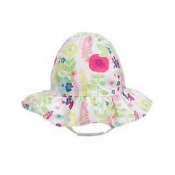 baby girl s ruffle floral sun hat