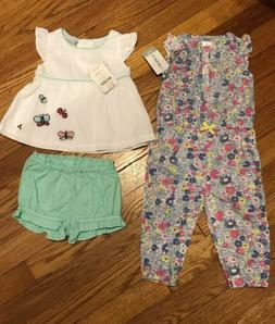 Baby Girl  Summer Outfits 9 Months And 6-12 Months Gymboree