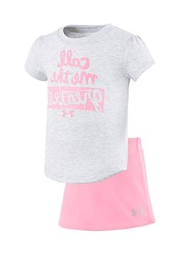 Under Armour Baby Girls' Lumos Tee And Shorts 2 Piece Set  /