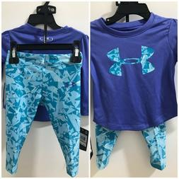 Under Armour Baby Girls Mirror 12M Logo Graphic Tee&Shatter
