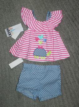 Kids Headquarters Baby Girls Outfit  - Size 12 Months - NWT
