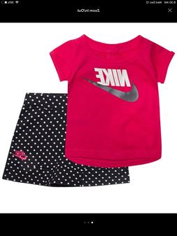 Baby girl's Nike skorts outfits, NWT, 12 Months