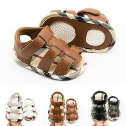 Baby Infant Summer Shoes Toddler Boy Girl Soft Soled First W