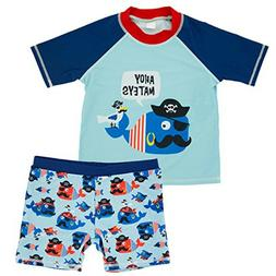baby kids boys toddler two pieces cartoon