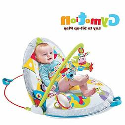 Baby Lay To Sit Up Play Mat Gymotion Infant Activity Toy For