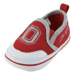 Baby Ohio St Buckeyes Crib Shoes Toddler Size 9-12 Months Ne