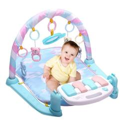 Baby Play Mat Gym Toys 0-12 Months Soft Lighting Musical Act