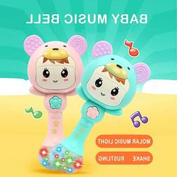 Baby Rattles Doll Toy Bell Music Learning Education Toys for