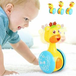 Baby Rattles Tumbler Doll Toys Bell Learning Education Toys