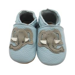 Sayoyo Baby Shoes Soft Sole Leather Slippers Elephant Moccas