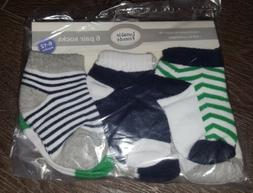 Luvable Friends - Baby Socks 6 Pair Pack  Unisex