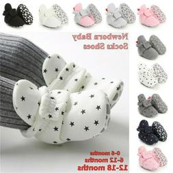 Baby Socks Shoes First Walkers Booties Cotton Anti-slip Warm