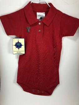 Baby Solid One Piece 12 Months Texas Tech Red Raiders by Cre