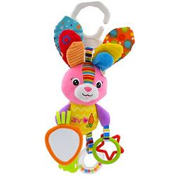 Seprovider Baby Toys, Colorful Rabbit Infant Stroller Toys W