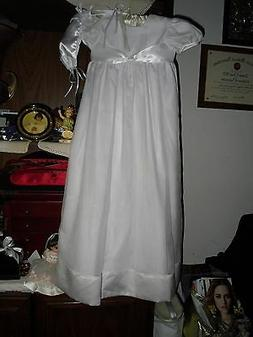 Little Things Mean A Lot Baptism Gown Size 12 Mo. Very Prett