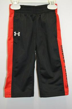 Under Armour - Boy's 12 Months Pants - Black & Red - Excelle