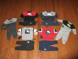 Nike Boys' 2-Pc. Sweatshirt & Pants Outfit Set Size 12M /18M