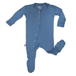 Kickee Pants Boys Basic Footie- Twilight, 9-12 Months