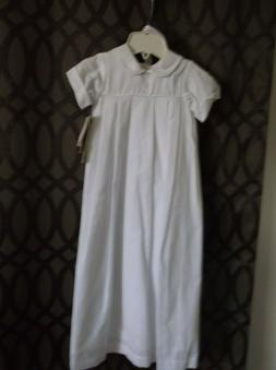 boys long gown Christening gown ib size 12 mo.  by Little Th