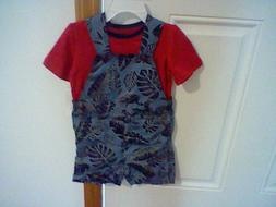 BRAND NEW INFANT BOYS SIZE 12 MONTHS WONDERKIDS SHORTALL OUT