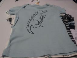 Carters Baby Boy 5 Dinosaur Themed Shirts Size 12 Months