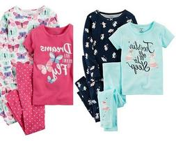 Carters Girls Cotton Pajamas New