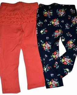 Carters Just One You Baby Girls Pants Set of 2 Pair 3 12 or