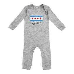 Cute Rascals Chicago Flag Star Cotton Long Sleeve Envelope N
