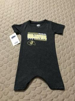 Colorado Buffaloes Infant Romper Outfit 12 Months Nwt