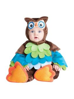 InCharacter Costumes Baby's What A Hoot Owl Costume, Brown/M