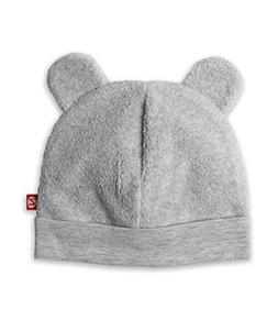 Zutano Cozie Fleece Hat - Heather Gray - 6M
