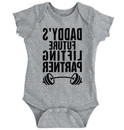 Brisco Brands Daddys Future Lifting Partner Athletic Baby Ro