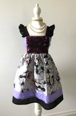 Evil Queen Rosette Hattie Dress SIze 12Months to Girls size