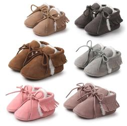 First Walkers Baby Non-slip Leather Shoes Baby Girl