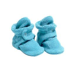 Fleece Baby Booties with 100% Organic Cotton Lining, 6 to 12