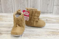 **Luvable Friends Fringe Bootie - Infant Girl's Size 12/18 M