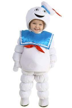Ghostbusters STAY PUFT Marshmallow Man Costume Puffed Baby 6