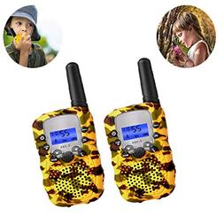 Gift for 4-12 Year Old Boys Girls, Walkie Talkie Toys for 3-