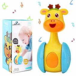 Tinabless Giraffe Tumbler Doll Roly-Poly Baby Toys Cute Toys