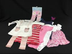 girl s clothes lot of 7 newborn