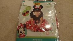 Girl's, Infant, Minnie Mouse Costume, Baby Disney, 3-Piece,