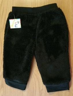 Girls Garanimals Black Polyester Pants - Size: 12 Months - N
