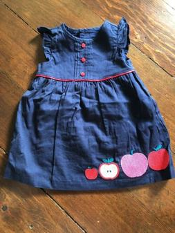 girls dress size 6 12 months nwt