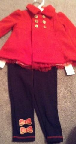 Girls size 12 months three-piece winter outfit retail $49.50