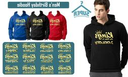 Gold KINGS Are Born 12 months HOODIE The Best Birthday Birth