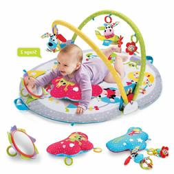 Yookidoo Gymotion Lay To Sit-Up Play Mat Infant Activity Toy