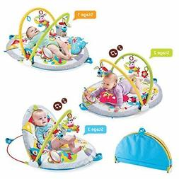 Gymotion Lay to Sit Up Play Mat Infant Activity Toy for Baby